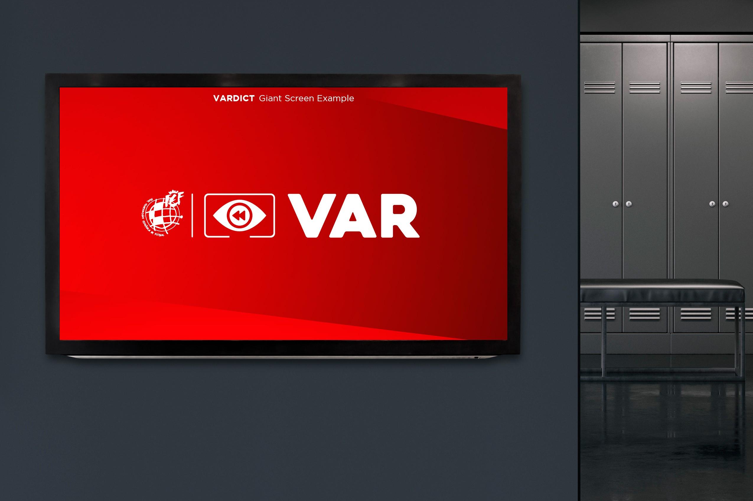 Logotipo VAR - RFEF