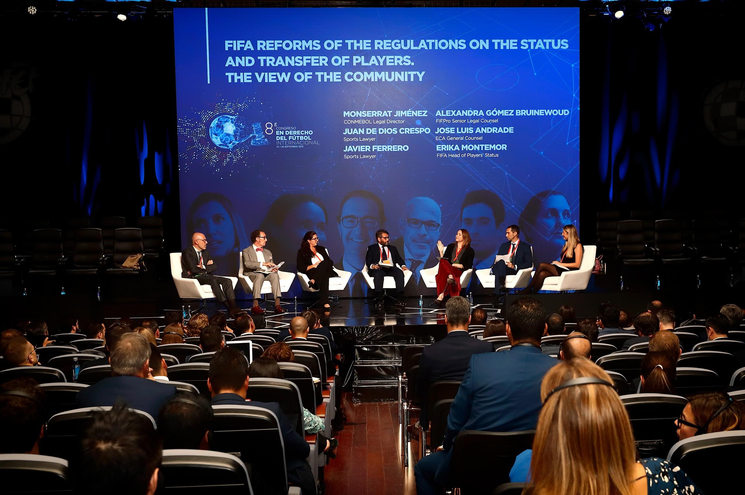 Congreso Internacional en derecho del fútbol