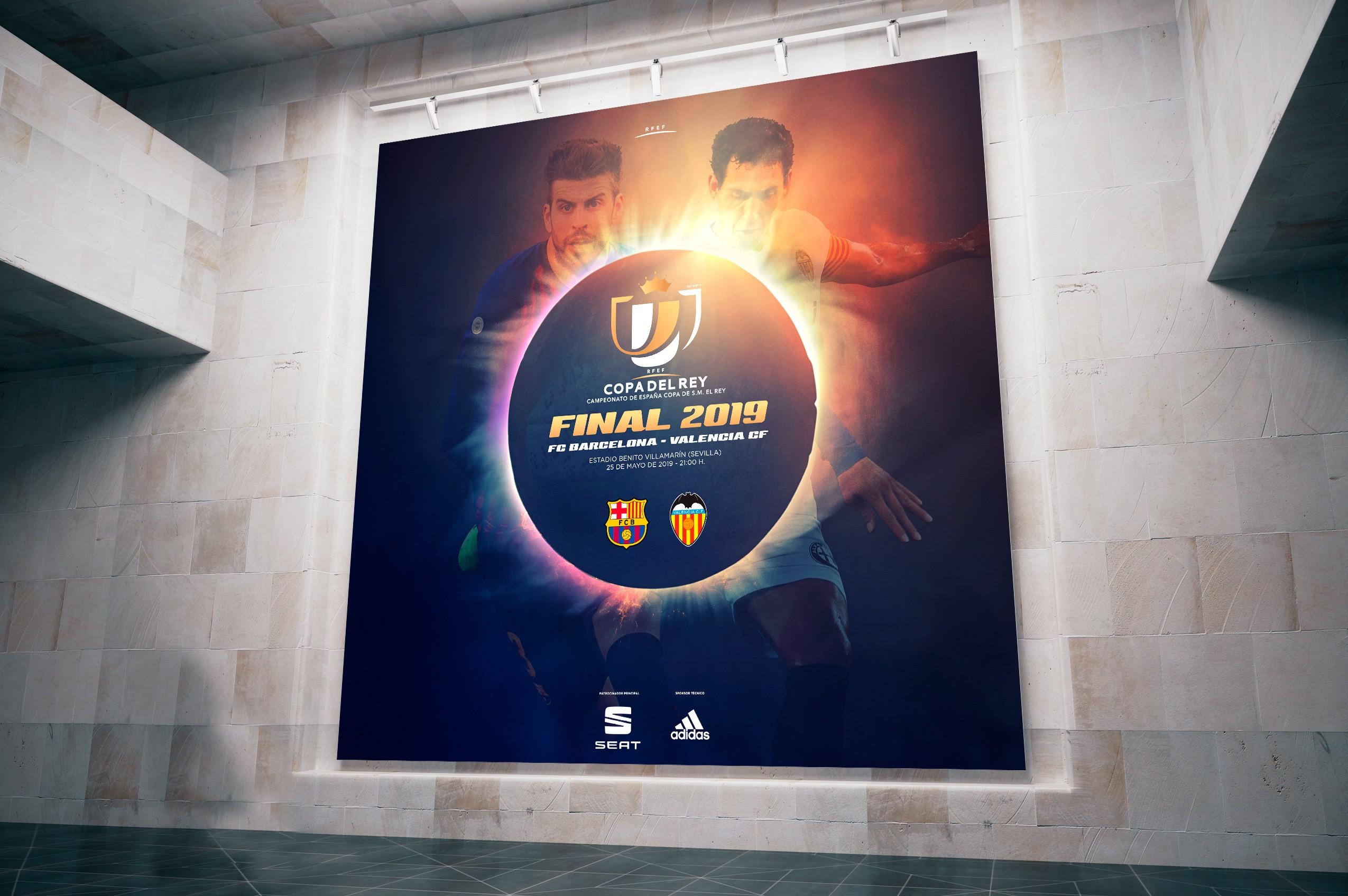 Copa del Rey de futbol 2020 RFEF en Sevilla